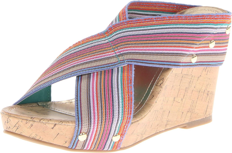 Madden girl Women's Nautic Platform Sandal