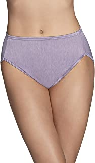 Vanity Fair Women's Illumination Hi Cut Panty 13108, Dusty Mauve, Medium (6)