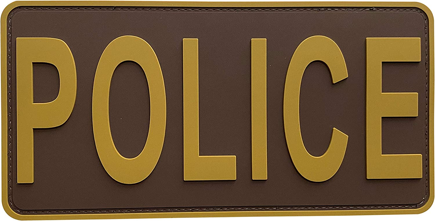 uuKen Clearance SALE Limited time Police Patch Large 4x8 inch State County for D City NEW
