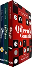 The Queen's Gambit Series 3 Books Collection Set by Walter Tevis (The Queen's Gambit, The Hustler & The Color of Money) NE...