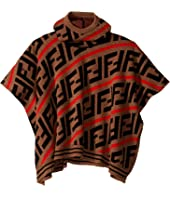 Fendi Kids - Hooded Logo Cape (Infant)