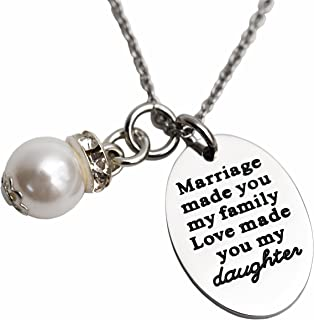 my family my love necklace