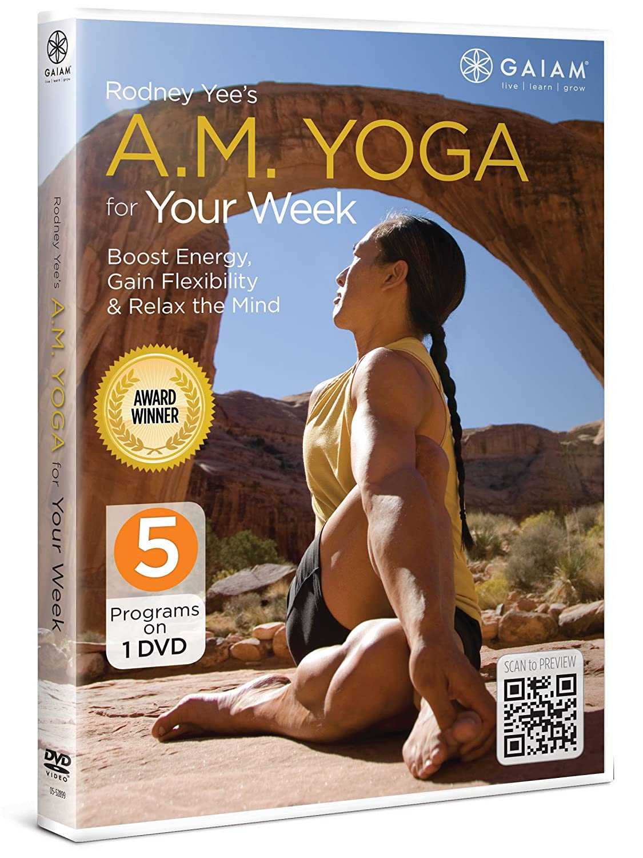 Rodney Yee Max 90% OFF Austin Mall Am Dvd Yoga