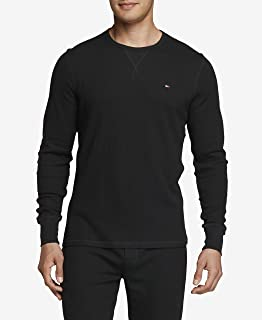 Men's Thermal Long Sleeve Crew Neck Shirt