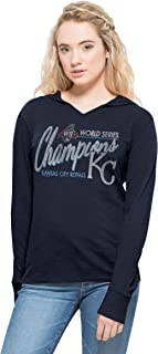 MLB Kansas City Royals Women's 2015 World Series Champions '47 Primetime Hood