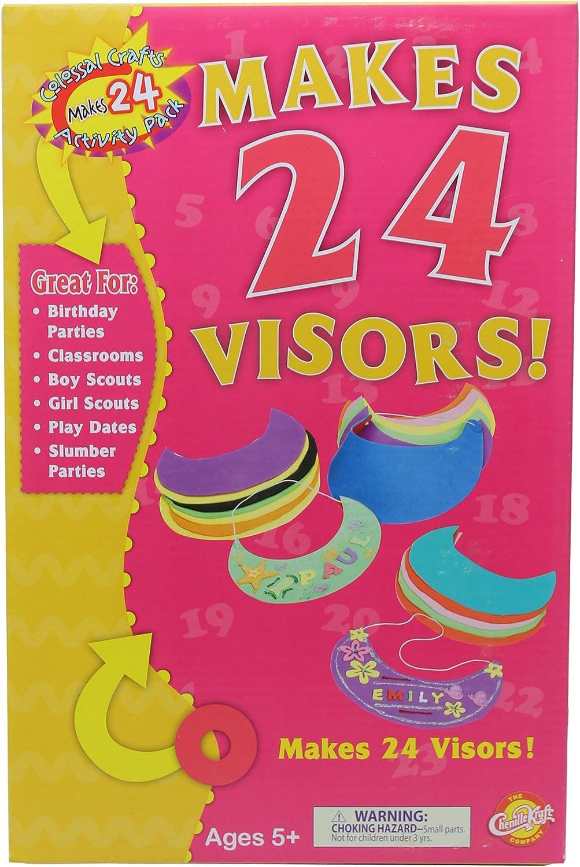 Visor Activity Pack, 24-Pack, Assorted Farbes B001600U0S   Sehr gelobt und vom Publikum der Verbraucher geschätzt