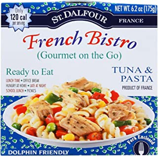 St. Dalfour, Gourmet on the Go, Tuna & Pasta, Ready to Eat, 6.2 oz (175 g) Each , 6 Pack