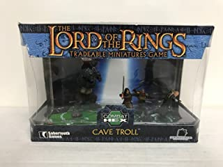 Cave Troll LORD of the RINGS Combat Hex action figure set by Sabretooth Games