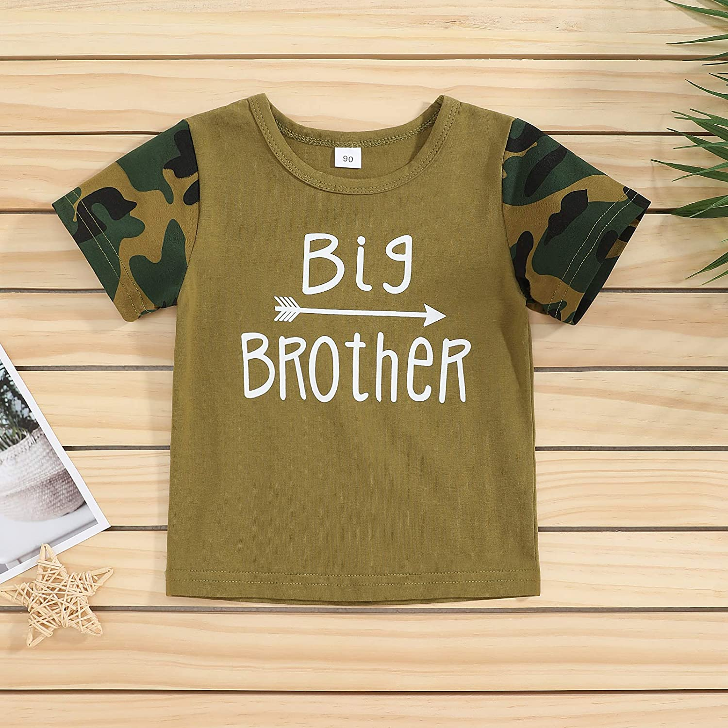 Baby Boys Girls Cute Clothes Funny Letter Short Sleeve Romper T Shirt Top One Piece Outfit