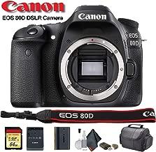 Canon EOS 80D DSLR Camera (1263C004) - Starter Bundle