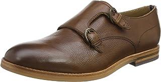 Hudson Men's Tasker Calf Monk Strap Shoes
