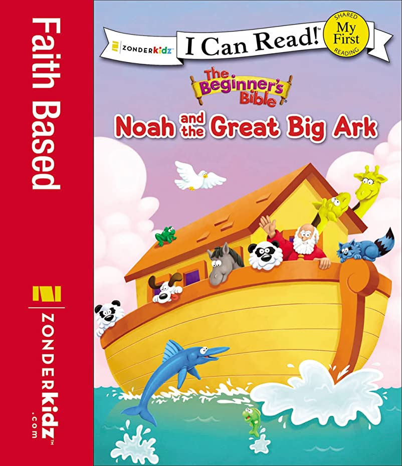 ジャニス本体鉄道The Beginner's Bible Noah and the Great Big Ark (I Can Read! / The Beginner's Bible) (English Edition)