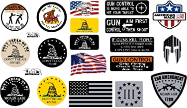 19-Pack, I Make Decals, Hard Hat, Lunch box, Tool Box Stickers   Proudly MADE IN USA! Funny vinyl decals for Construction, Plumber, Electrician, Union, Oilfield, Mechanics  