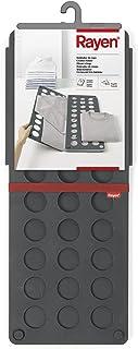 comprar comparacion Rayen Doblador de Ropa | Plegable | Fácil almacenaje | Dimensiones: 70 x 59 cm, Polipropileno, Gris