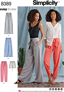 Simplicity Creative Patterns US8389R5 Sewing Pattern Skirts and Pants, R5 (14-16-18-20-22)
