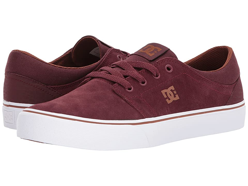 DC Trase SD (Burgundy) Skate Shoes