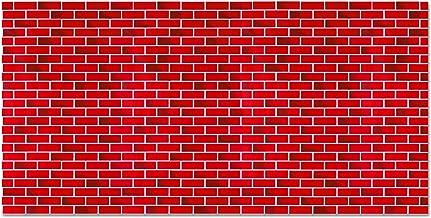 brick wall display paper