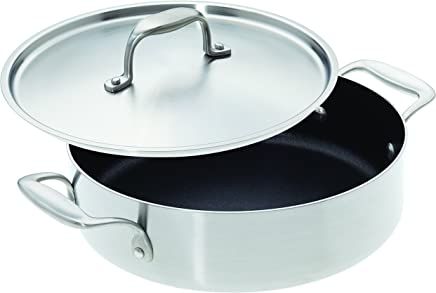 "American Kitchen Cookware Nonstick Casserole Pan with Lid (10"")"