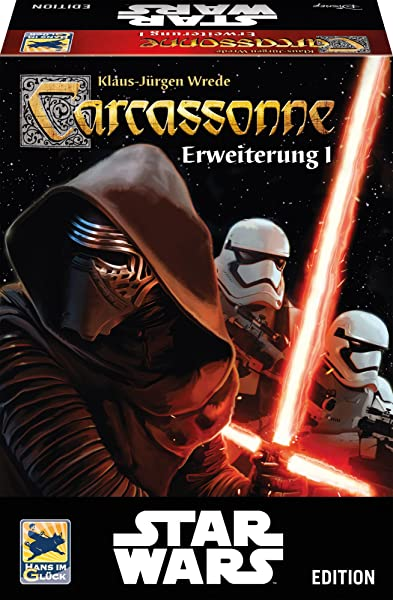 Hans Im Gl Ck 48260 Carcassonne Star Wars Expansion 1 Family Game