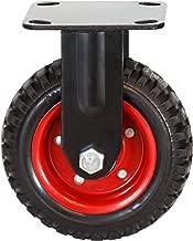 POWERTEC 17053 Fixed Heavy Duty Industrial Caster, 8-inch