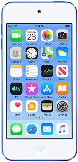 Apple iPod Touch (128GB) – Blue (Latest Model)