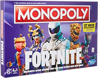 Hasbro Gaming E6603398 Fortnite Edition Board Game for the Fortnite Video Game, from 13 Years