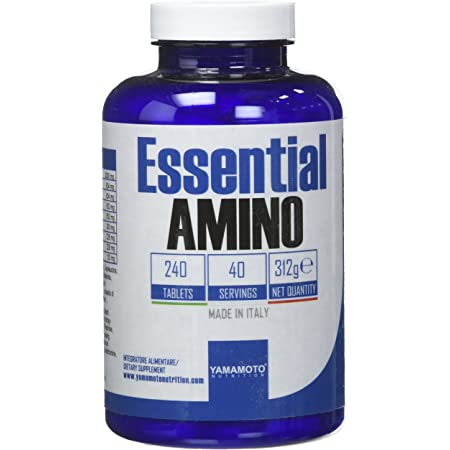 Yamamoto Nutrition Essential AMINO integratore di aminoacidi essenziali 240 compresse