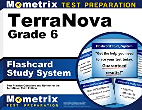 TerraNova Grade 6 Flashcard Study System: TerraNova Test Practice Questions & Exam Review for the TerraNova, Third Edition (Cards)