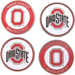 Ohio State Buckeyes Golf Ball Markers (Set of 4)