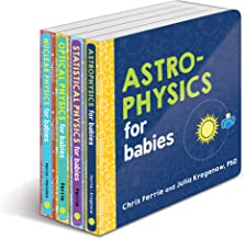 Baby University Physics Board Book Set: Astrophysics for Babies, Statistical Physics for Babies, Optical Physics for Babies, Nuclear Physics for Babies (Baby University Board Book Sets)