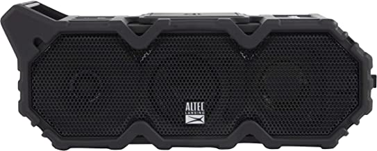 Altec Lansing Imw790-Blk Lifejacket XL Jolt Heavy Duty Rugged and Waterproof Portable Bluetooth Speaker with QI Wireless C...