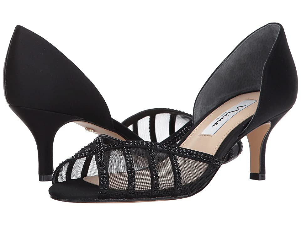 Nina Corita (Black/Black) High Heels