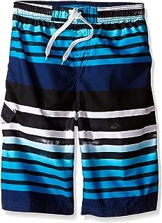 Kanu Surf Big Boys' Reflection Stripe Swim Trunk