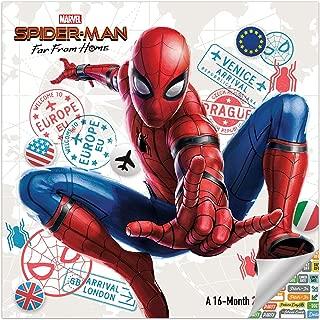 Spiderman Calendar 2020 Set - Deluxe 2020 Spider-Man Wall Calendar with Over 100 Calendar Stickers (Marvel Avengers Gifts, Office Supplies)