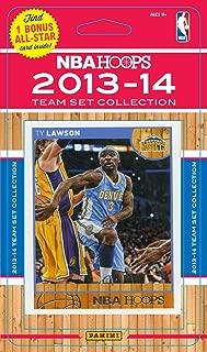 Denver Nuggets Brand New 2013 2014 Hoops Basketball Factory Sealed 10 Card NBA Licensed Team Set