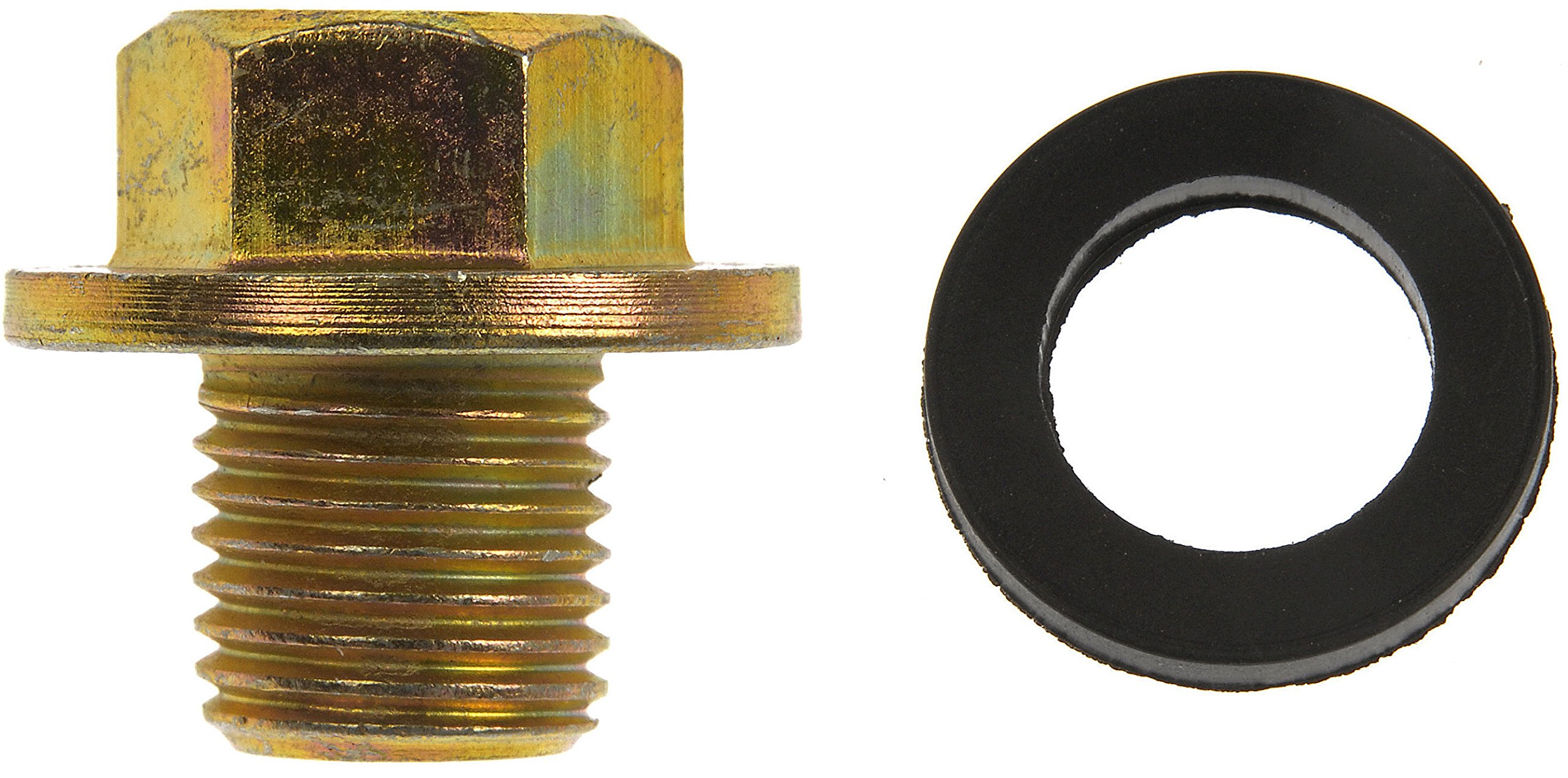 Dorman 090-038CD Oil Drain Plug Standard M12-1.25 Head Size 14mm for Select Models