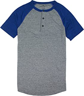 American Eagle Men's Short Sleeve Henley T-Shirt M-6