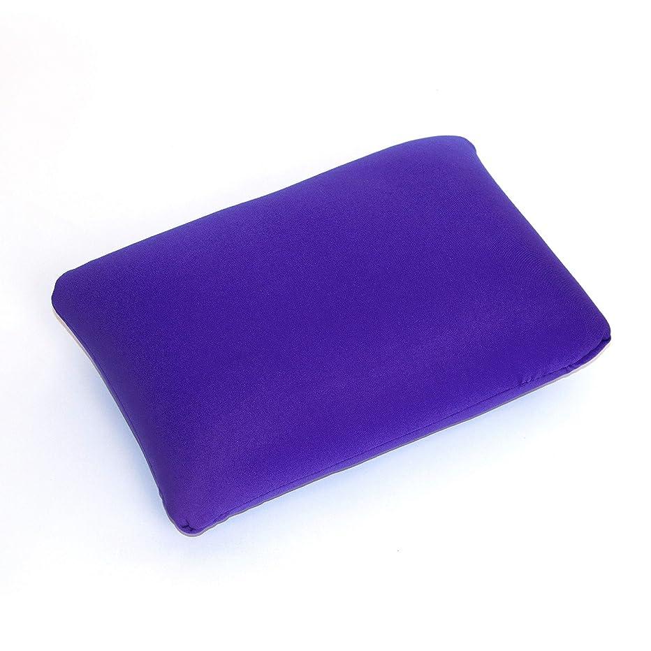 危険にさらされているカンガルーアパートCushie Pillow 13.5インチ x 10インチ マイクロビーズ スクイッシー 柔軟 低刺激性 快適な長方形枕 パープル