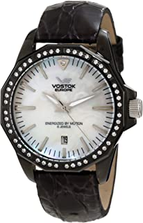 Vostok-Europe Women's YT57/2234166 N-1 Rocket Mother-of-Pearl Dial Watch