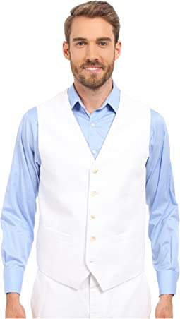 Perry Ellis Linen Suit Vest