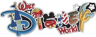 Disney Soft Touch Magnet - Walt Disney World - Letters