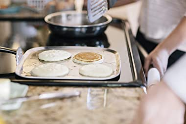 """360 Square Griddle (11"""" x 11""""), Stainless Steel Cookware, Handcrafted in the USA"""