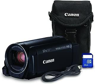 Canon HF R800 Bundle HD Recording Portable Traditional Video Camera, Black
