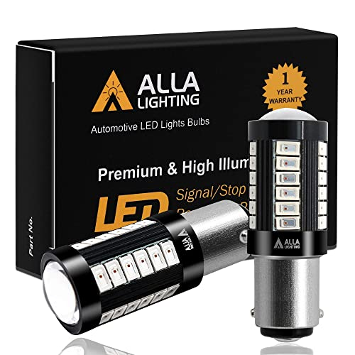SiriusLED Compact 3157 4157 White LED for Car Back up Reverse Light Bulb Full aluminum alloy body small size Pack of 2