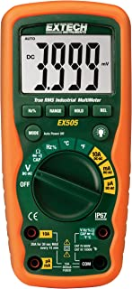 Extech EX505 CAT IV-600V True RMS Industrial MultiMeter with