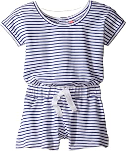Cute D'Azure Playsuit (Toddler/Little Kids)