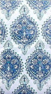 Creative Converting Floral Indigo Guest Towels Buffet Napkins, 16 ct