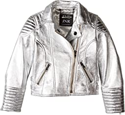 Luxe Leather Jacket (Infant/Toddler/Little Kids)