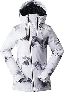 Women's High-Tech Fashion Ski Jacket Mountain Snowboard Rain Jacket