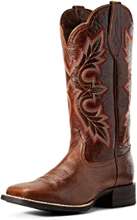 ARIAT womens Breakout Western Boot, Rustic Brown, 9 US